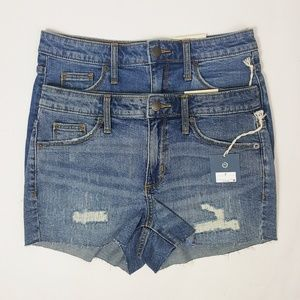 Universal Thread High Rise Stretch Denim Shorts 2